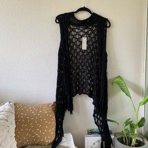 NWT | BCBG | Crocheted Vest